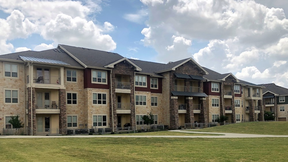 hill country chalk on apartments