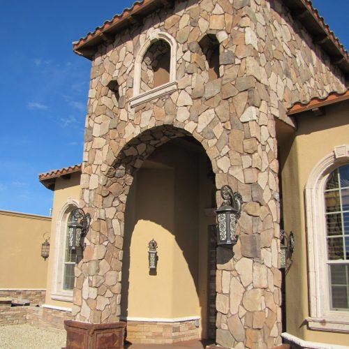 shoshone fieldstone home
